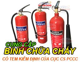 Cung cấp bình khí cứu hỏa hà nội