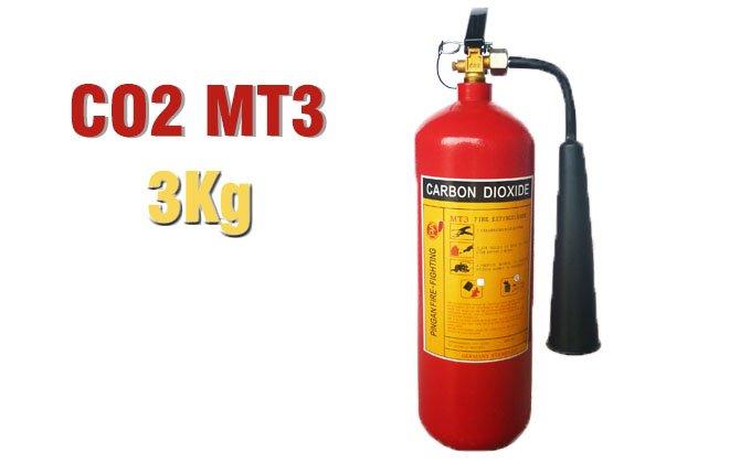 Bình khí chữa cháy CO2 MT3 hà nội